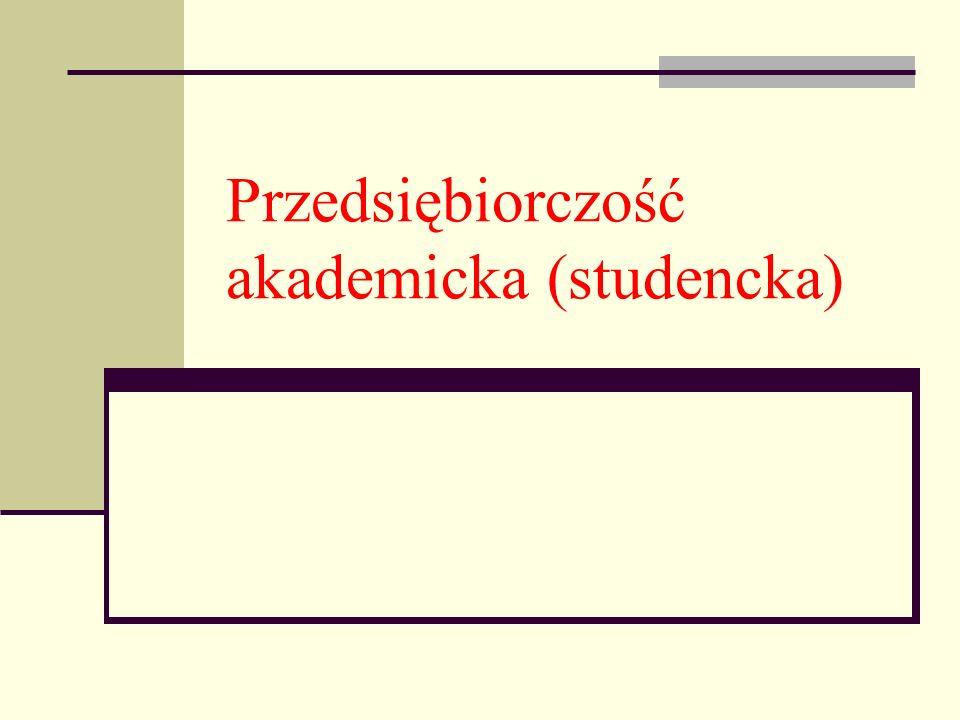 Plan prezentacji cz.I Początki Pojęcie Czemu przedsiębiorczość na uczelni.