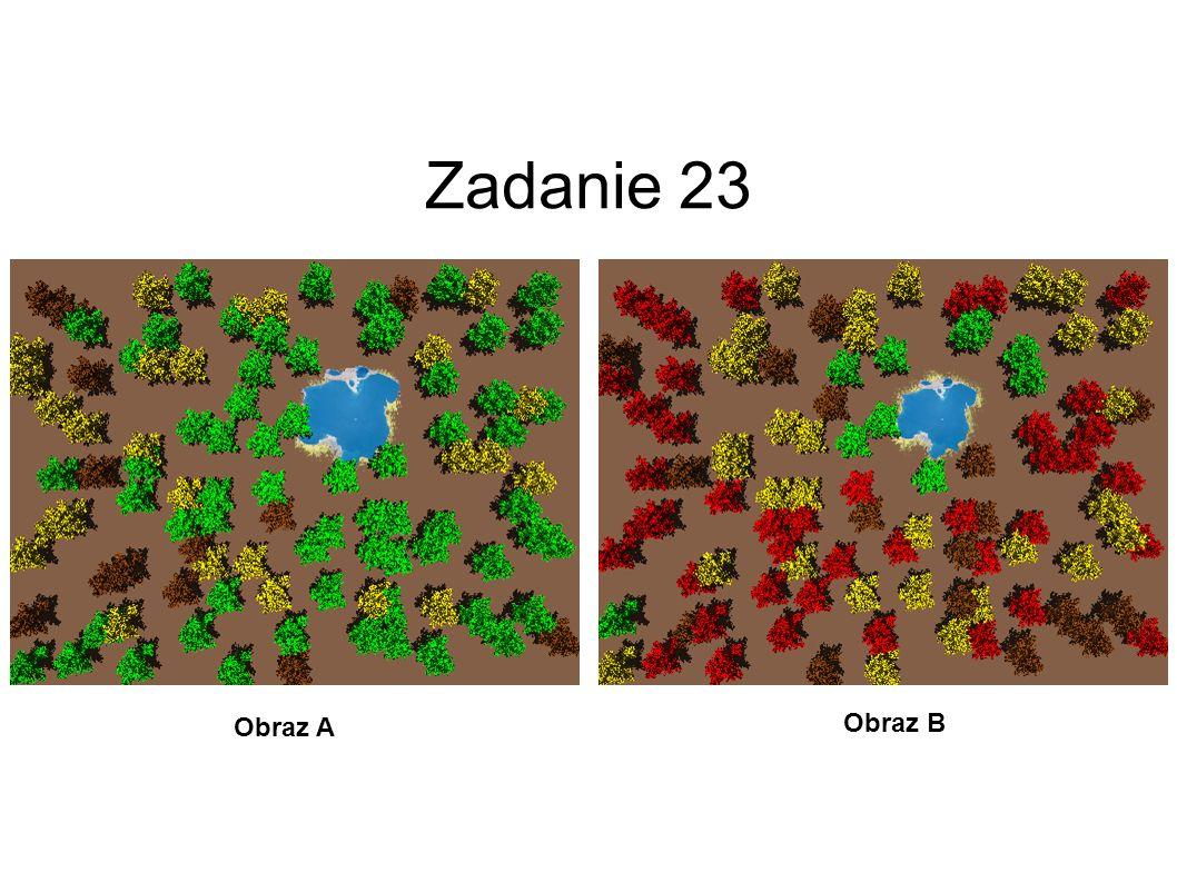 Zadanie 22 Obraz A Obraz B