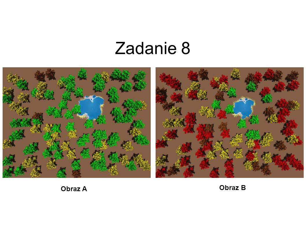 Zadanie 7 Obraz A Obraz B