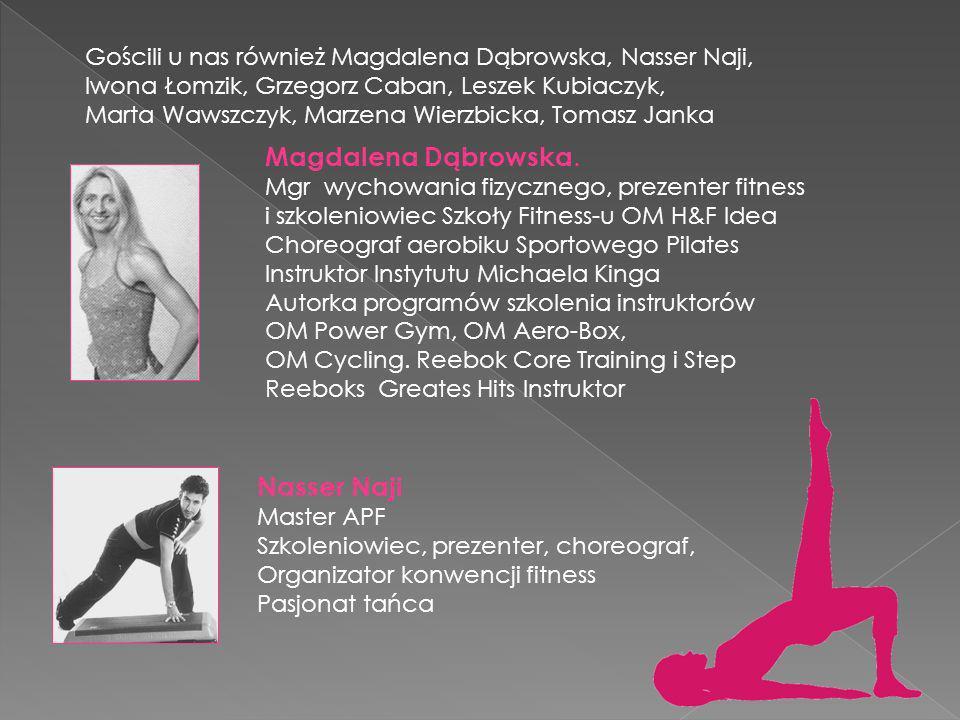 Konwencja Fitness jest prowadzona przez profesjonalną kadrę na czele której stoi jedna z najlepszych prezenterek Fitness Marta Tymoszewicz -Bednarz wr