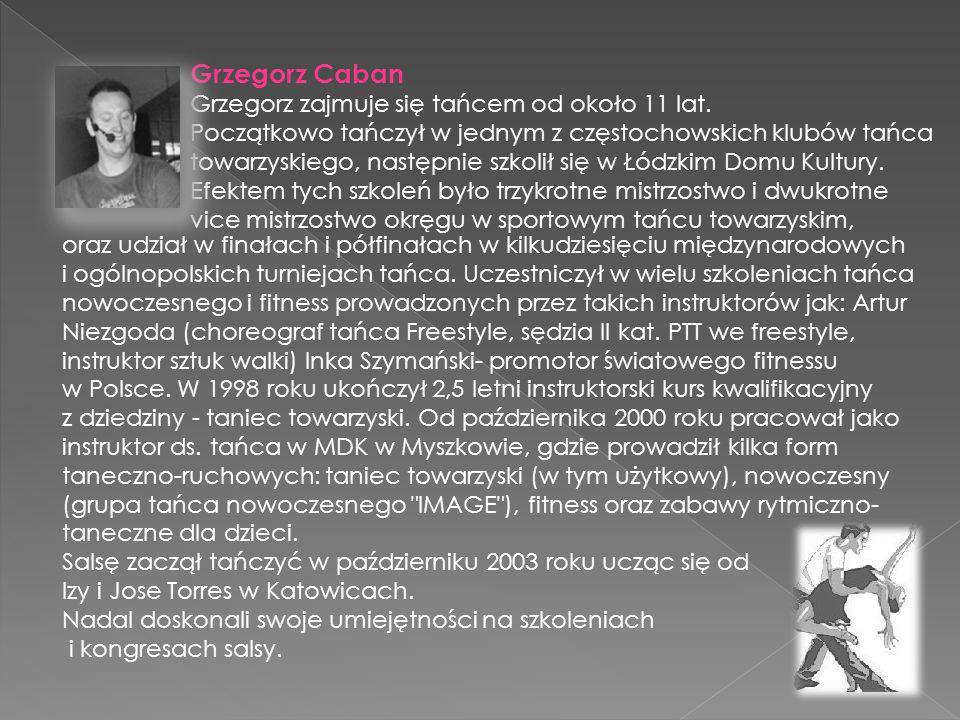 Magdalena Dąbrowska. Mgr wychowania fizycznego, prezenter fitness i szkoleniowiec Szkoły Fitness-u OM H&F Idea Choreograf aerobiku Sportowego Pilates