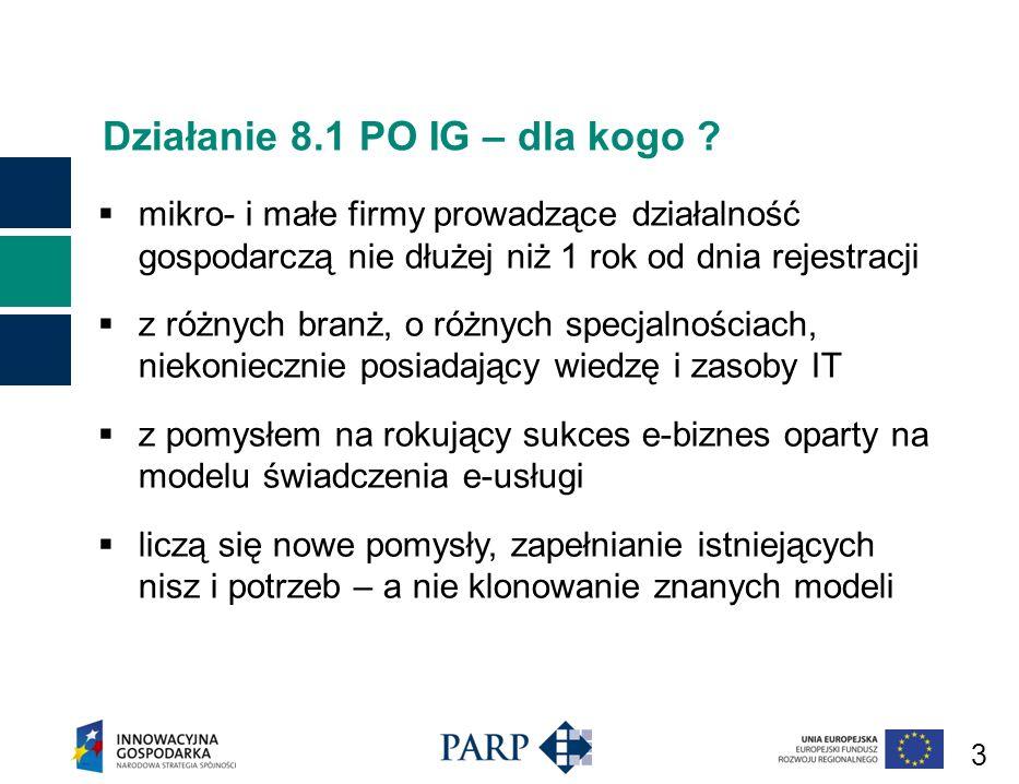 24 Program Operacyjny Innowacyjna Gospodarka, 2007-2013 Szczegółowy opis priorytetów Programu Operacyjnego Innowacyjna Gospodarka Rozporządzenie Ministra Rozwoju Regionalnego w sprawie udzielania przez PARP pomocy finansowej na wspieranie tworzenia i rozwoju gospodarki elektronicznej w ramach POIG, 2007-2013 Wytyczne w zakresie kwalifikowania wydatków w ramach Programu Operacyjnego Innowacyjna Gospodarka, 2007- 2013 Polska Agencja Rozwoju Przedsiębiorczości © 24 Dokumenty podstawowe