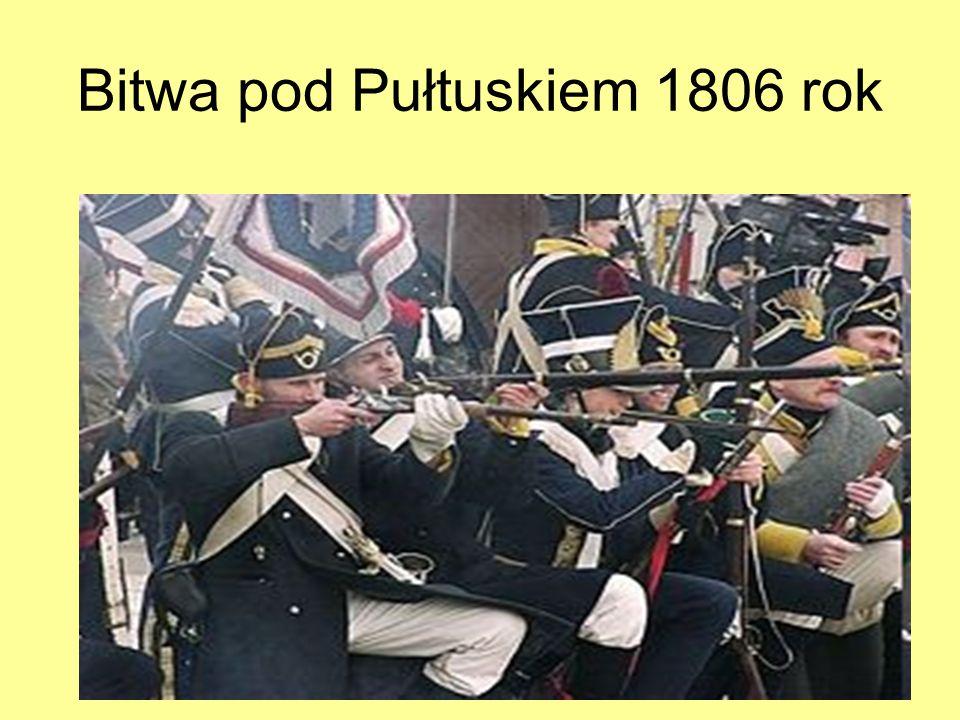 Bitwa pod Pułtuskiem 1806 rok