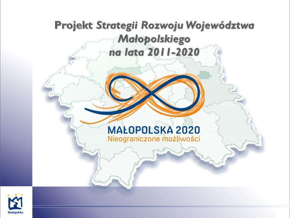 Projekt Strategii Rozwoju Województwa Małopolskiego na lata 2011-2020