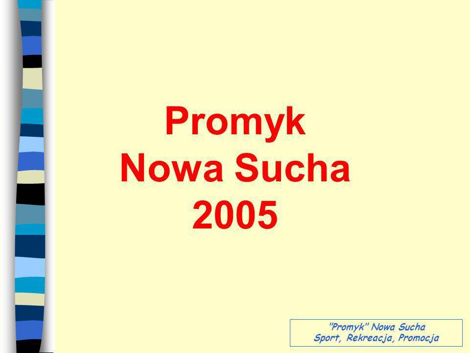 Promyk Nowa Sucha 2005 Promyk Nowa Sucha Sport, Rekreacja, Promocja