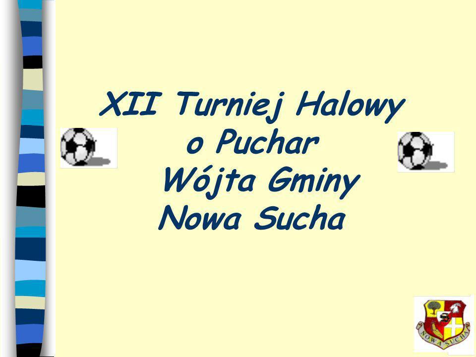 XII Turniej Halowy o Puchar Wójta Gminy Nowa Sucha