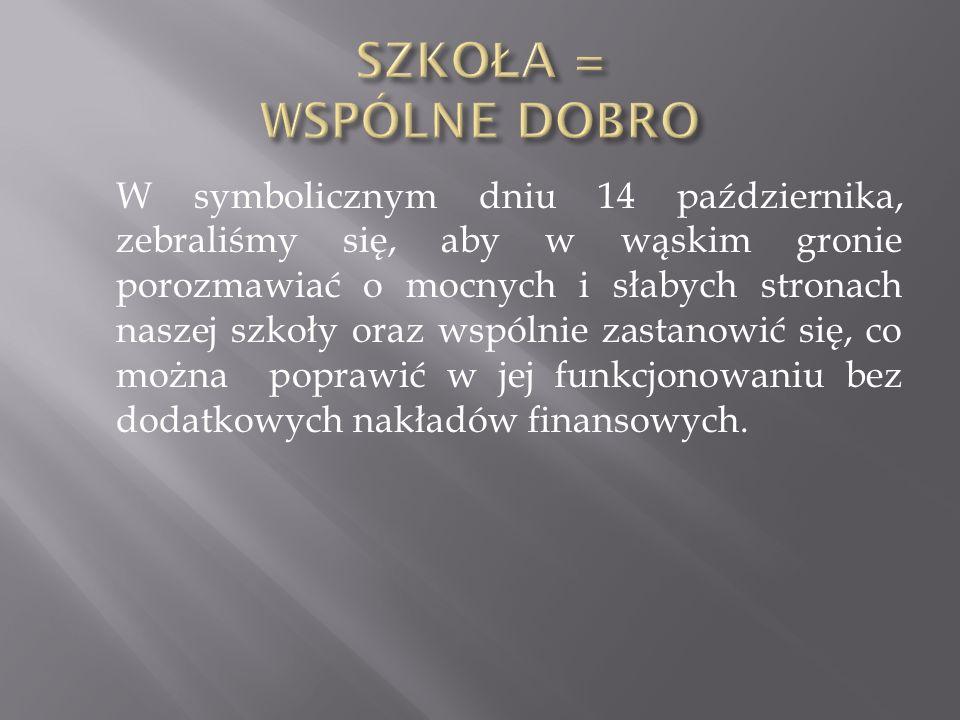 Zebranych powitał Dariusz Kosowski, dyrektor szkoły, który następnie przedstawił cel spotkania.