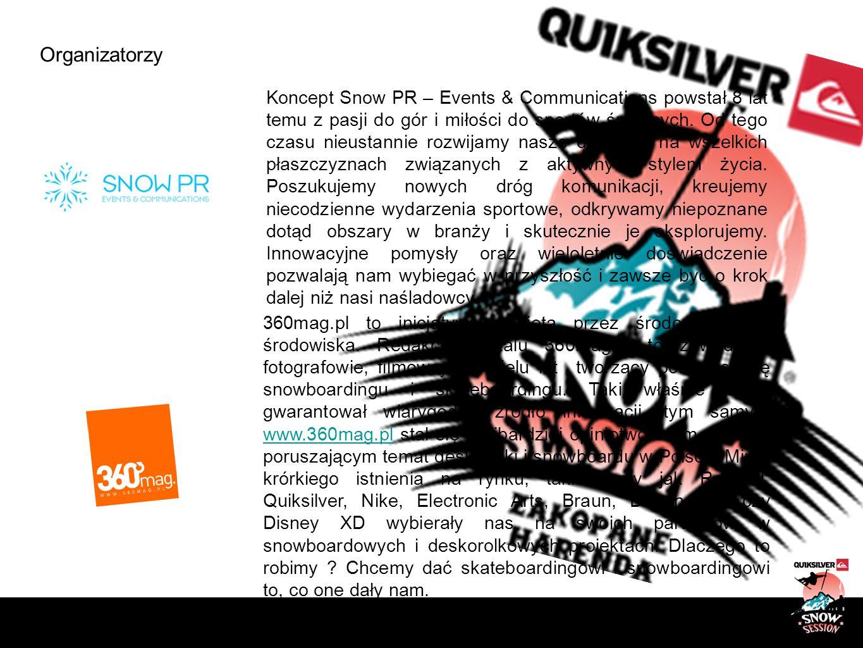 Organizatorzy Koncept Snow PR – Events & Communications powstał 8 lat temu z pasji do gór i miłości do sportów śnieżnych. Od tego czasu nieustannie ro