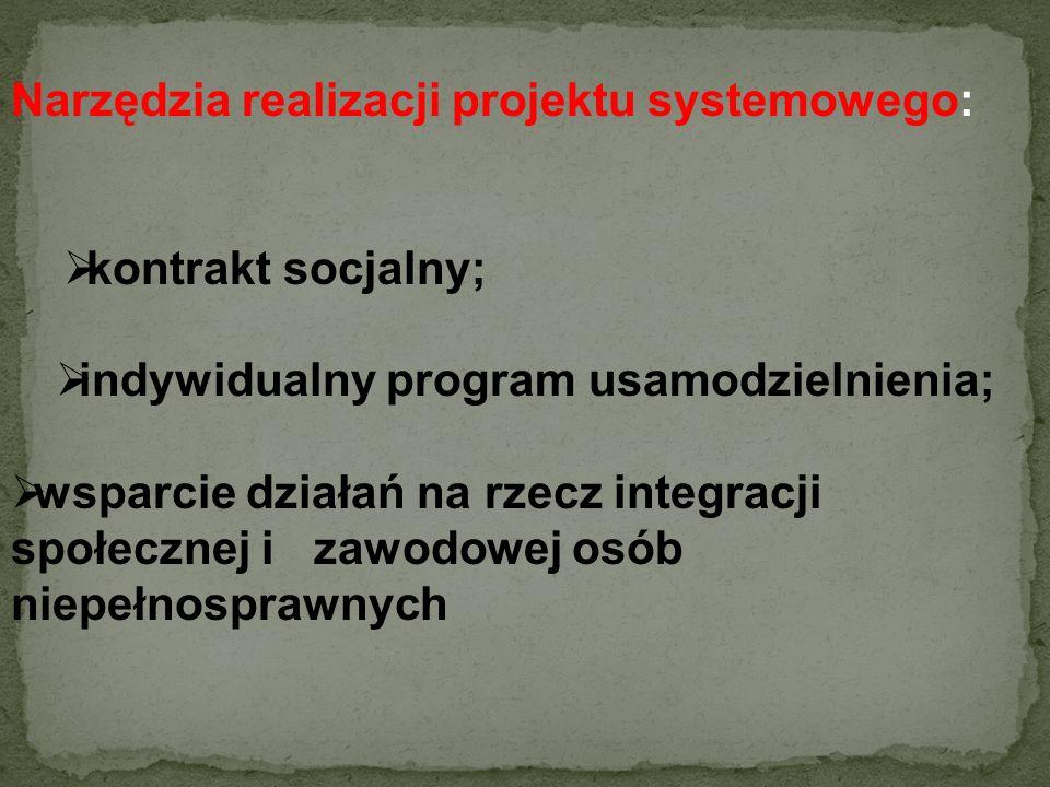 Cele projektu: Celem ogólnym projektu jest zwiększenie aktywności społecznej i zawodowej 58 osób niepełnosprawnych oraz 30 wychowanek i wychowanków op