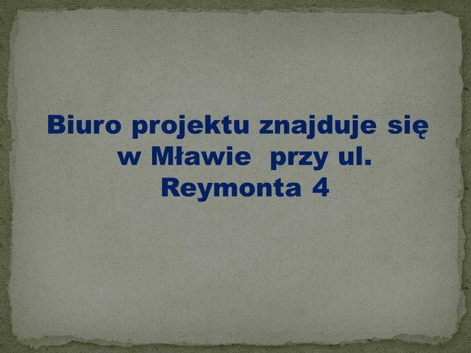TYTUŁ PROJEKTU-,, Aktywna integracja społeczna i zawodowa w powiecie mławskim