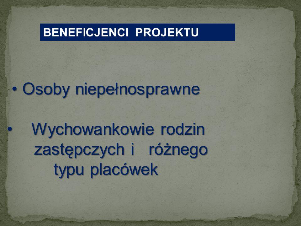Projekt systemowy AKTYWNA INTEGRACJA SPOŁECZNA I ZAWODOWA W POWIECIE MŁAWSKIM etap I - okres realizacji: 1 maja 2009r. do 31 grudnia 2009r. budżet pro