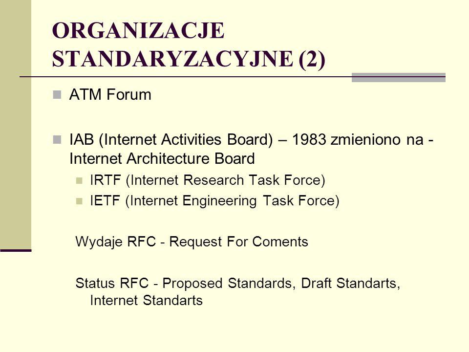 STANDARD IEEE 802.5 TOKEN RING Standard IEEE 802.5 zakłada topologie pierścieniową, dla której: · Każda stacja dokonuje retransmisji wszystkich ramek krążących w pierścieniu, można więc na bieżąco dokonywać w czasie retransmisji modyfikacji pewnych bitów w ramkach.