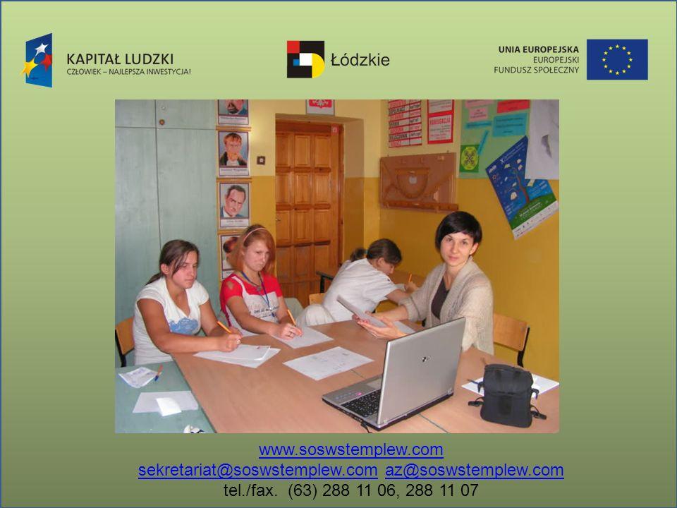 www.soswstemplew.com sekretariat@soswstemplew.comsekretariat@soswstemplew.com az@soswstemplew.comaz@soswstemplew.com tel./fax. (63) 288 11 06, 288 11