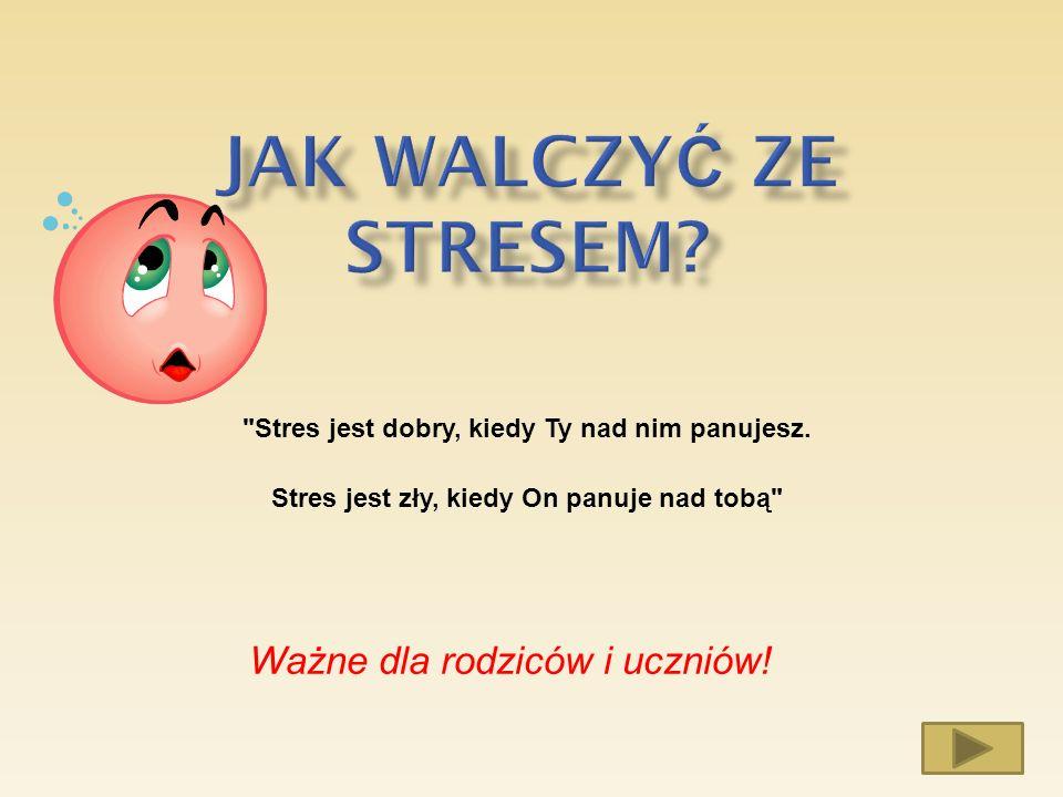 1.Co to jest stres?. Co to jest stres. 2.
