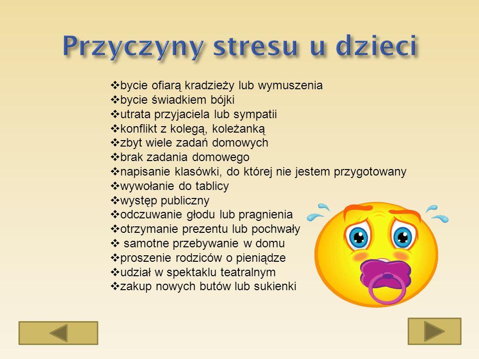 Jest bardzo wiele przyczyn powodujących stres związany z odpytywaniem, egzaminem.