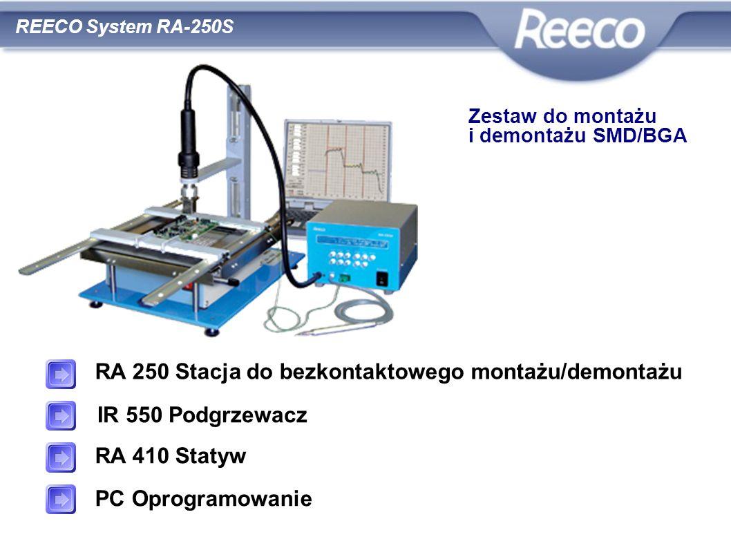 wysoka jakość atrakcyjna cena zgodność z CE i RoHS RA 250 Stacja do bezkontaktowego montażu/demontażu IR 550 Podgrzewacz RA 410 Statyw PC Oprogramowan