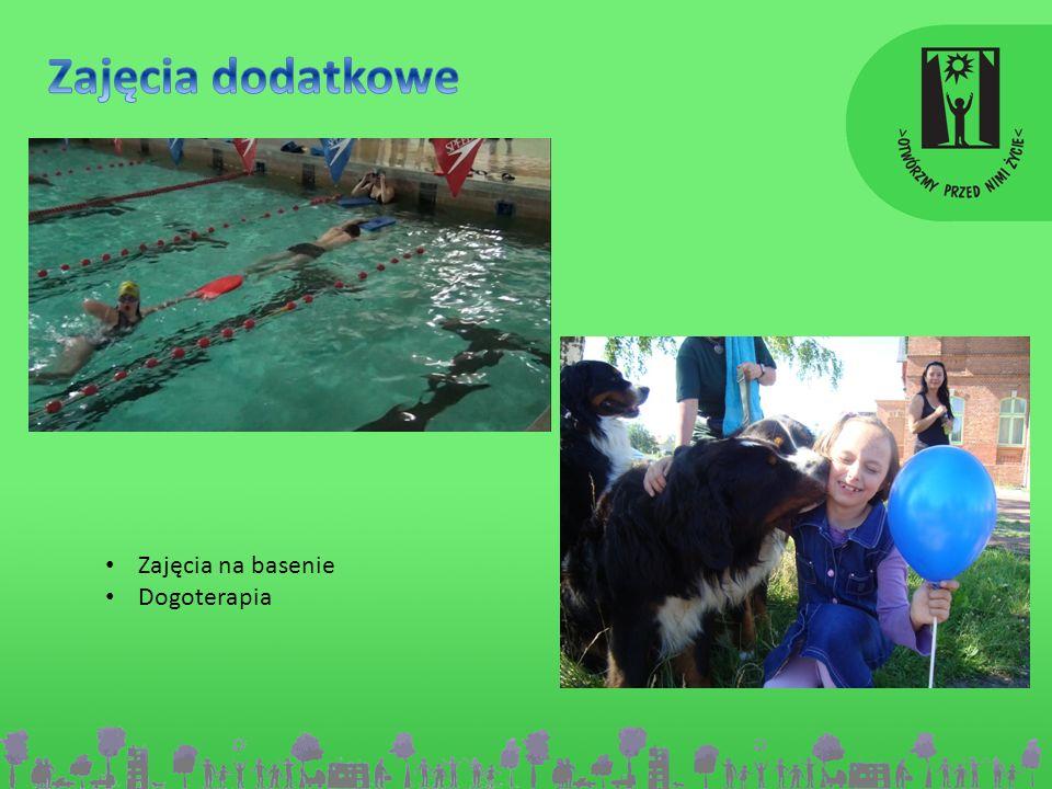Zajęcia na basenie Dogoterapia