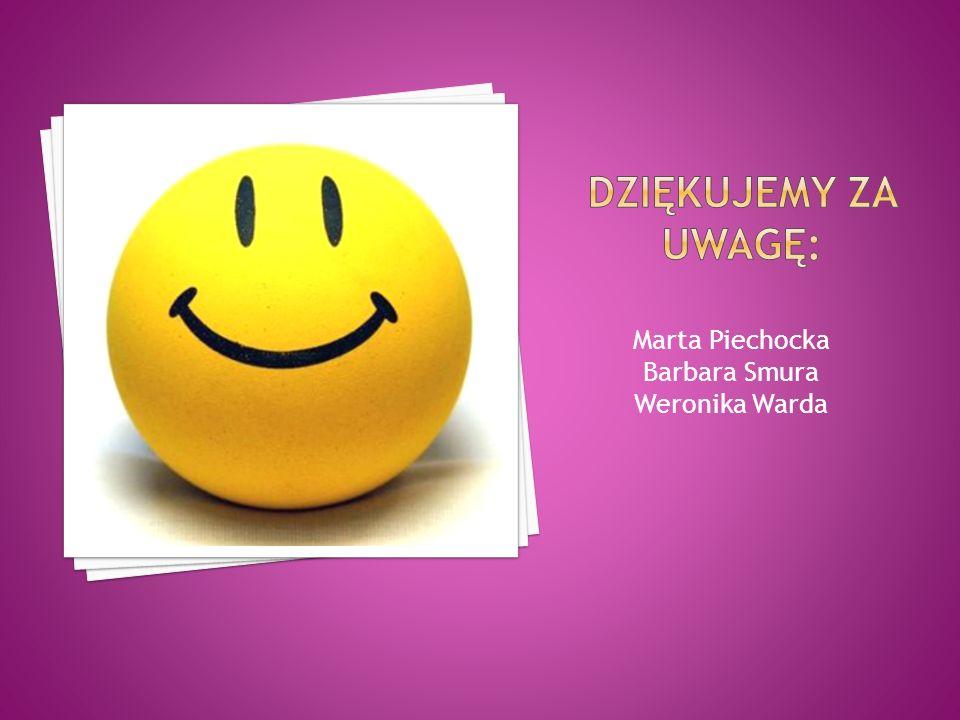 Marta Piechocka Barbara Smura Weronika Warda