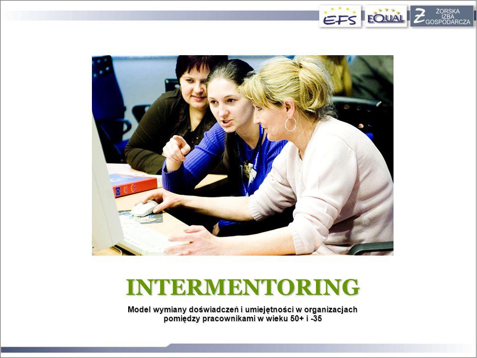INTERMENTORING Model wymiany doświadczeń i umiejętności w organizacjach pomiędzy pracownikami w wieku 50+ i -35