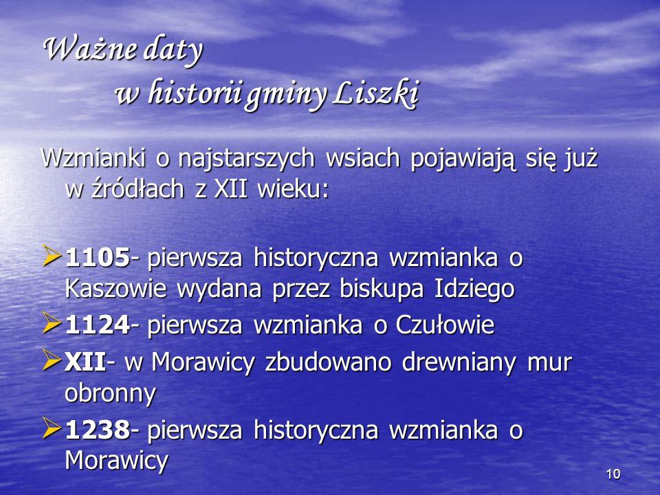 9 Liczne odkrycia świadczą o tym, że tereny gminy Liszki zamieszkiwane były w średniowieczu. W czasie prac wykopaliskowych w jaskini Na Łopiankach zna