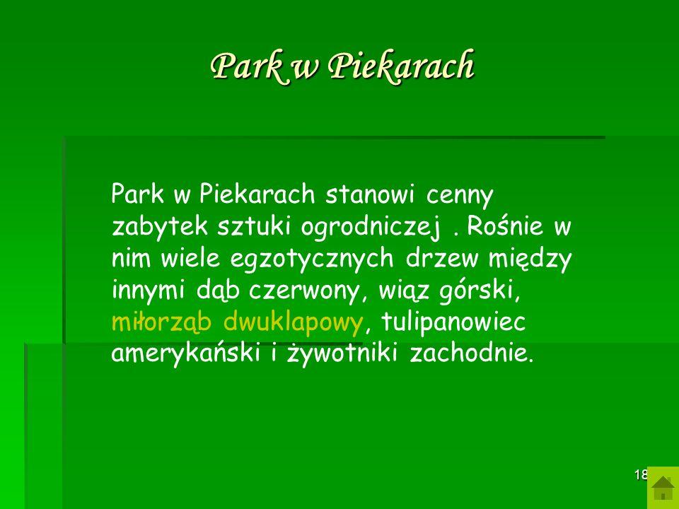 17 Rezerwat krajobrazowo-florystyczny obejmuje malowniczy, skalisty odcinek z niewielkimi jaskiniami między Brzoskwinką a Morawicą. Do lat 50- tych XX