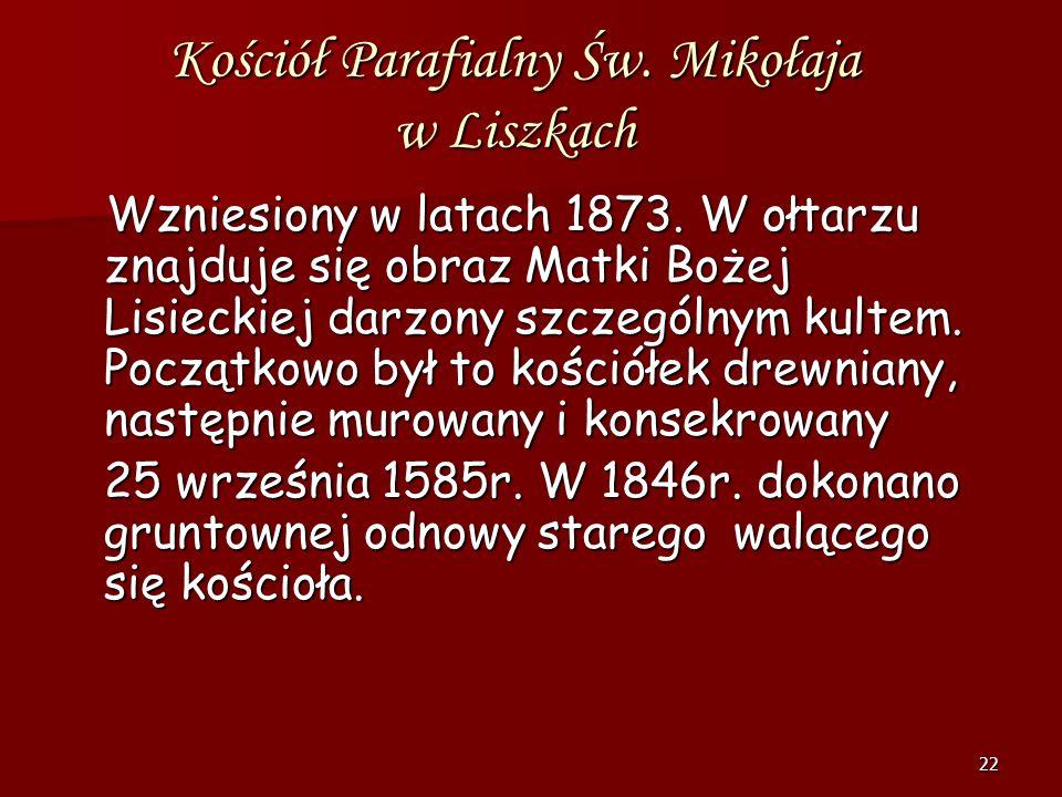 21 Ko ś ció ł w Morawicy