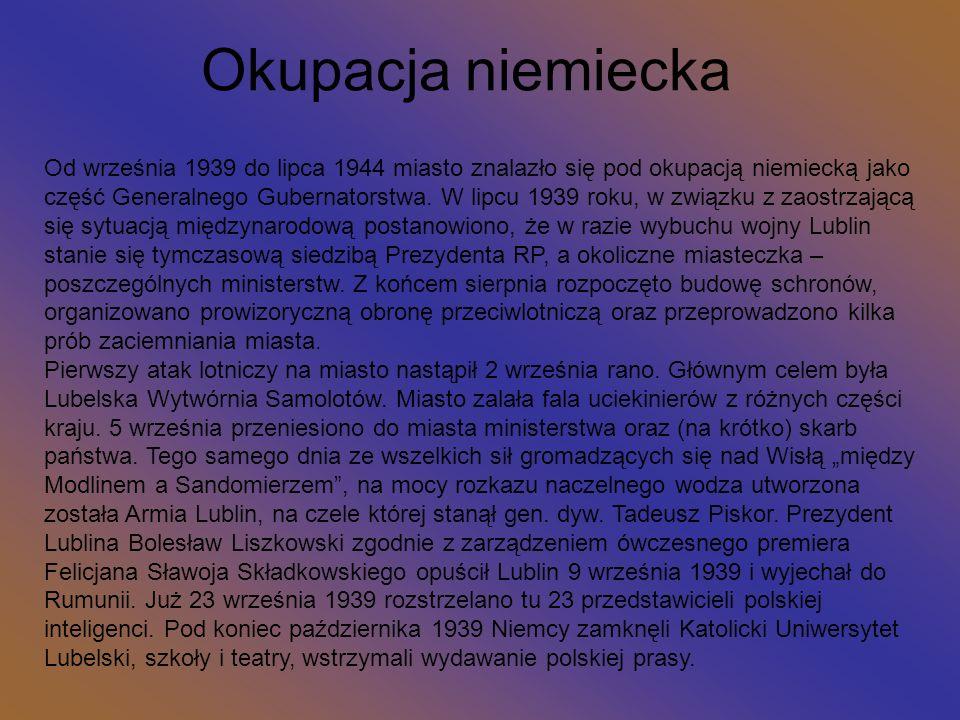 Herb Lublina z Koziołkiem Na przełomie XIII i XIV wieku lubelscy mieszczanie zabiegali o prawa miejskie.