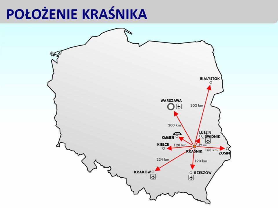 - bliskie sąsiedztwo z Portem Lotniczym Lublin, - paneuropejski korytarz tranzytowy wschód – zachód; droga ekspresowa S-17, - wysoko rozwinięta infrastruktura przejść granicznych z Ukrainą (4 przejścia), - obszar graniczny Unii Europejskiej, Lubelszczyzna oknem na Europę Wschodnią i Azję Środkową.