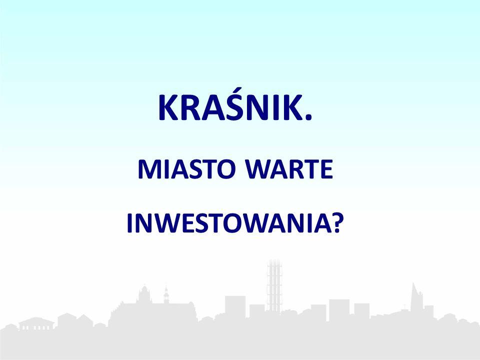Budowa i eksploatacja farmy słonecznej Nowa Energia Kraśnik Miasto Kraśnik jako pierwszy samorząd w Polsce realizuje budowę 1 MW elektrowni fotowoltaicznej w formule partnerstwa publiczno – prywatnego.