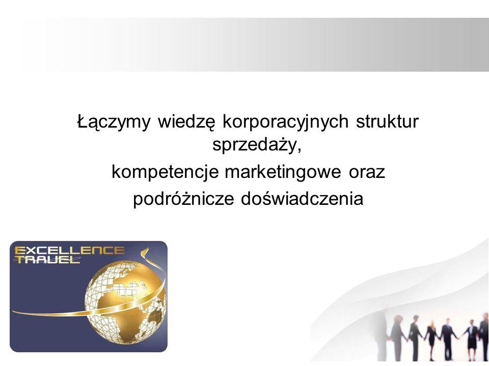 Łączymy wiedzę korporacyjnych struktur sprzedaży, kompetencje marketingowe oraz podróżnicze doświadczenia