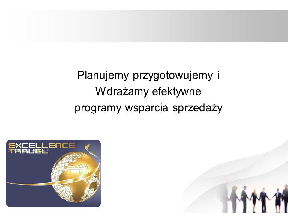 Planujemy przygotowujemy i Wdrażamy efektywne programy wsparcia sprzedaży