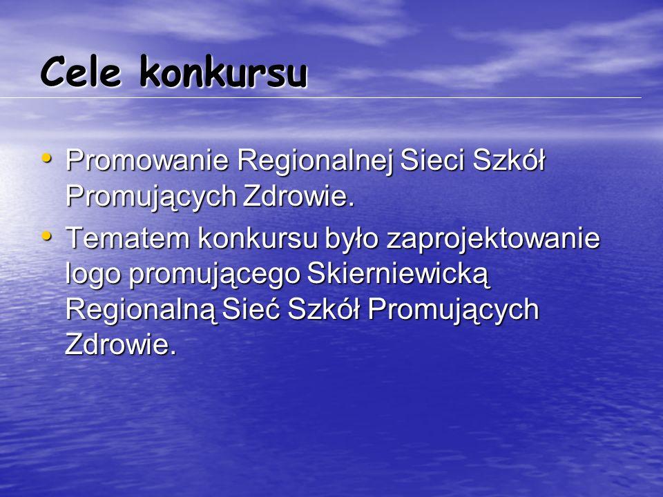 Cele konkursu Promowanie Regionalnej Sieci Szkół Promujących Zdrowie. Promowanie Regionalnej Sieci Szkół Promujących Zdrowie. Tematem konkursu było za