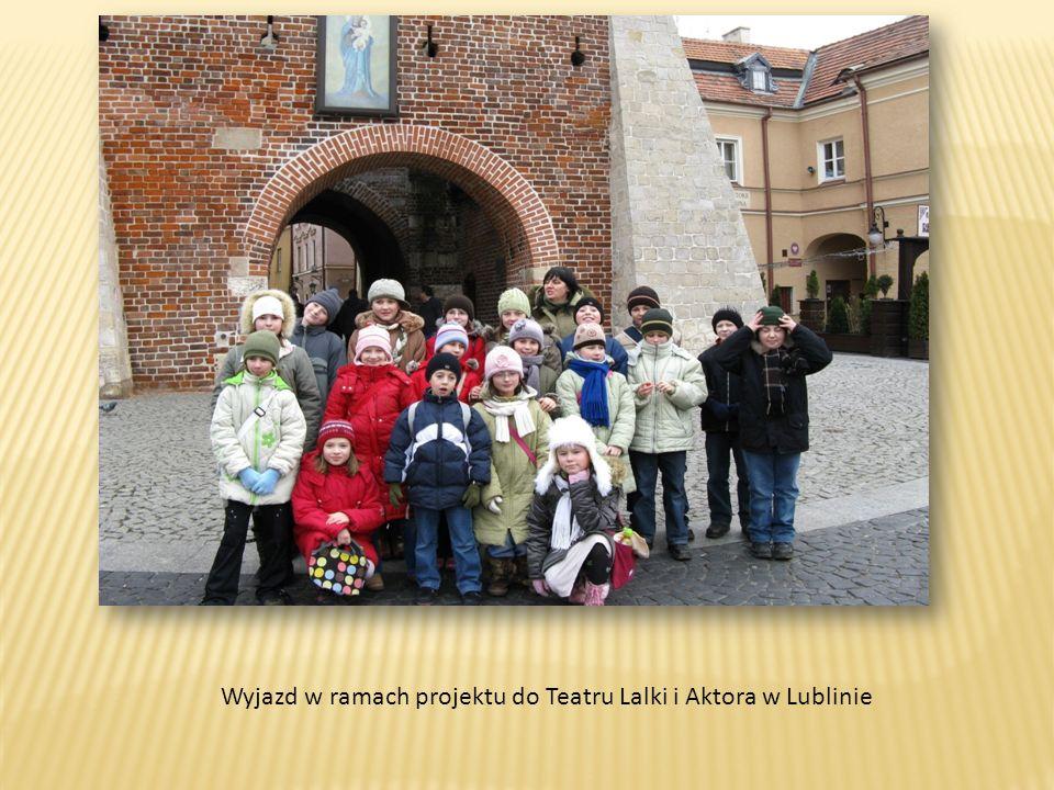 Wyjazd w ramach projektu do Teatru Lalki i Aktora w Lublinie