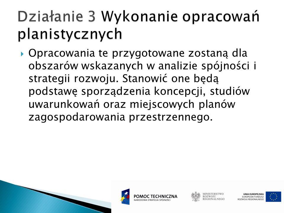 W ramach działania 4 przygotowana zostanie dokumentacja na potrzeby wykonania zadań wynikających ze studium rozwoju transportu oraz infrastruktury komunikacyjnej wytypowanych w strategii działania dla obszaru funkcjonalnego i możliwych do zrealizowania w perspektywie finansowej 2014-2020.