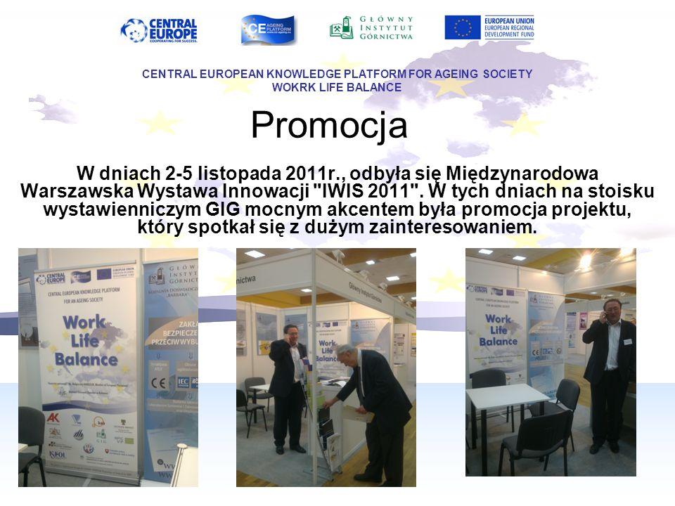 Promocja W dniach 2-5 listopada 2011r., odbyła się Międzynarodowa Warszawska Wystawa Innowacji