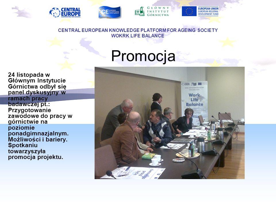 Promocja 24 listopada w Głównym Instytucie Górnictwa odbył się panel dyskusyjny w ramach pracy badawczej pt.: Przygotowanie zawodowe do pracy w górnic