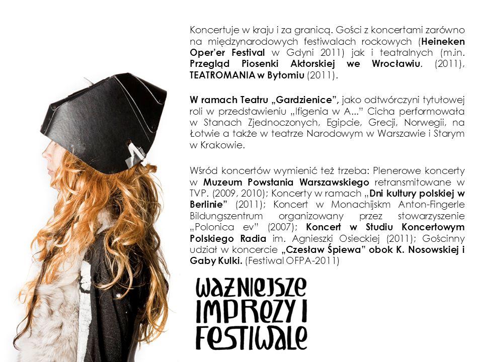Stypendium Ministra Kultury na skomponowanie i wykonanie muzycznego monodramu opartego na tekstach S.
