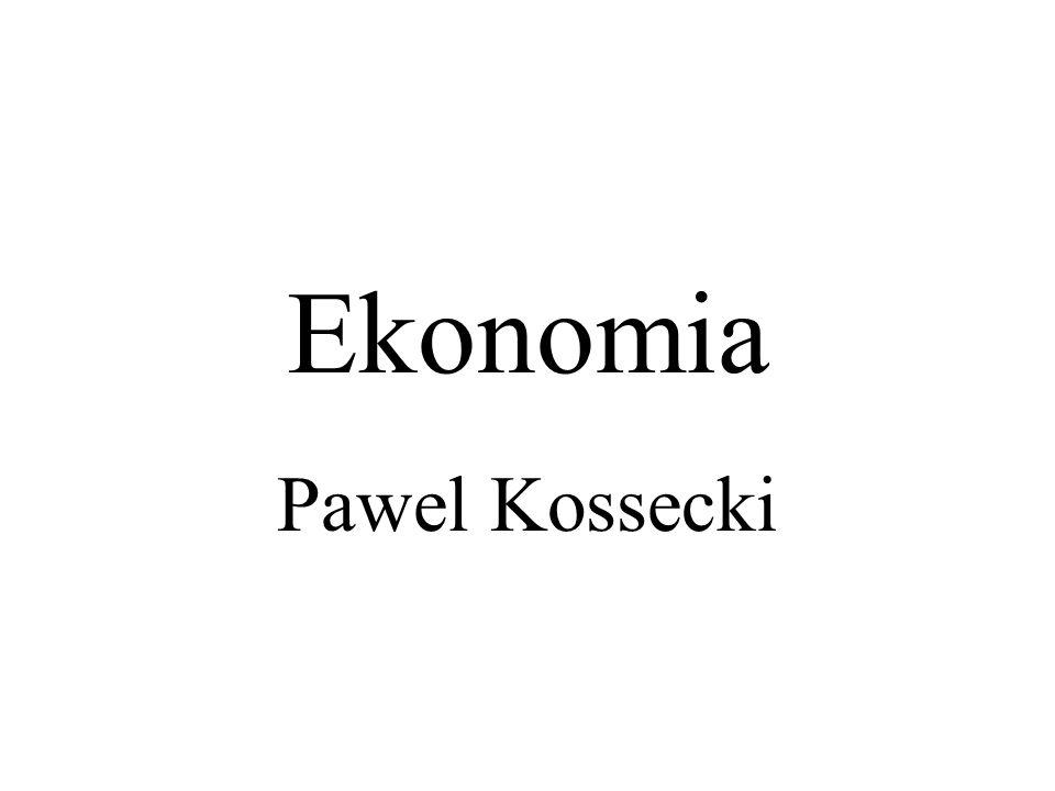 Literatura D.Begg, S. Fischer, R. Dornbusch, Ekonomia: Mikroekonomia, PWN, Poznań 1998 D.