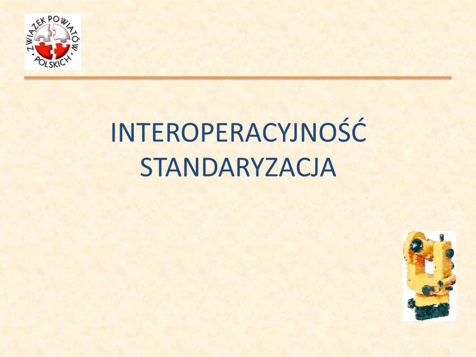 INTEROPERACYJNOŚĆ STANDARYZACJA dziękuję za uwagę Roman Rohaczyński