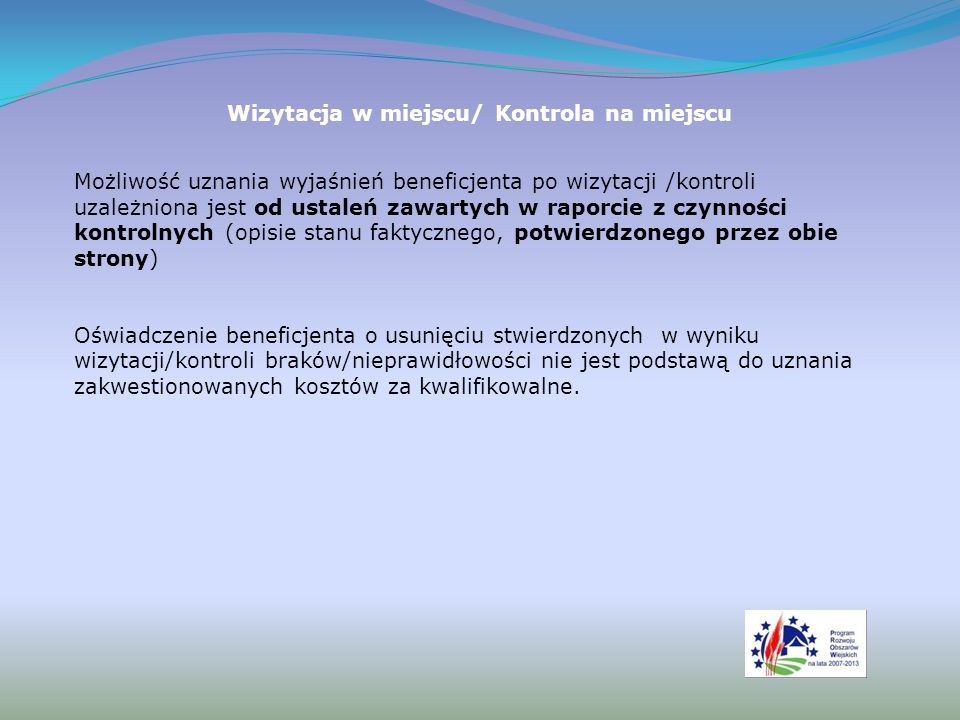 Rozliczanie kosztów budowlanych dla podmiotów zobowiązanych do stosowania przepisów o zamówieniach publicznych W przypadku realizacji przez Beneficjenta robót na podstawie umowy ryczałtowej z wykonawcą, sprawdzana jest realizacja zakresu rzeczowego w odniesieniu do projektu budowlanego, uwzględniając: Zestawienie rzeczowo-finansowe z realizacji operacji – sekcja VI WoP; Protokoły odbioru robót-sporządzone w układzie pozycji zestawienia rzeczowo-finansowego operacji (elementów scalonych); Kosztorysy różnicowe – w przypadku zmian w realizacji inwestycji; Projekt budowlany.