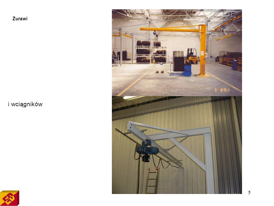 15 Zmiana lokalizacji maszyn i urządzeń, przemieszczanie linii produkcyjnych Firma Eksploatacja Dźwignic świadczy usługi związane z zmianą lokalizacji maszyn i urządzeń.