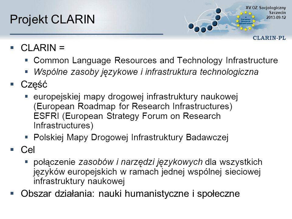 XV OZ Socjologiczny Szczecin 2013-09-12 CLARIN-PL Analiza tekstu – narzędzia Ze względu na zagrożenie powodziowe policja zamknęła boczny pas autostrady A7 koło Laatzen w pobliżu Hanoweru w kierunku na południe.