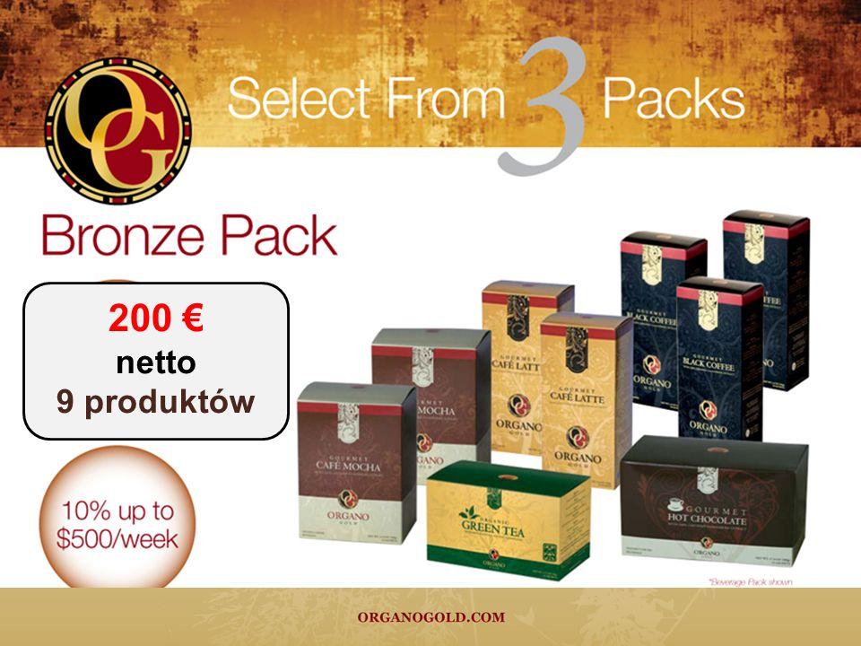 200 netto 9 produktów
