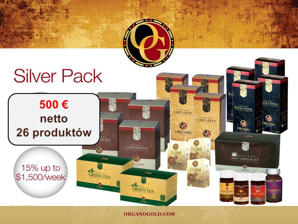 500 netto 26 produktów
