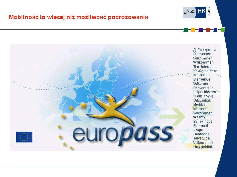 Niemiecki Angielski Co to jest europass? europass europass CV europass paszport językowy europass meuropass mobilność europass europass suplement do d