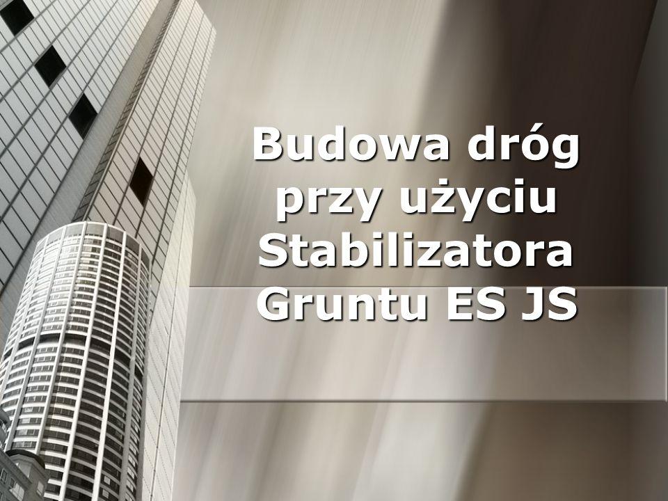 ES JS ES JS (Enviro Solution JS) jest opatentowanym kopolimerem na bazie akrylu produkowanym w USA jako stabilizator gruntu.