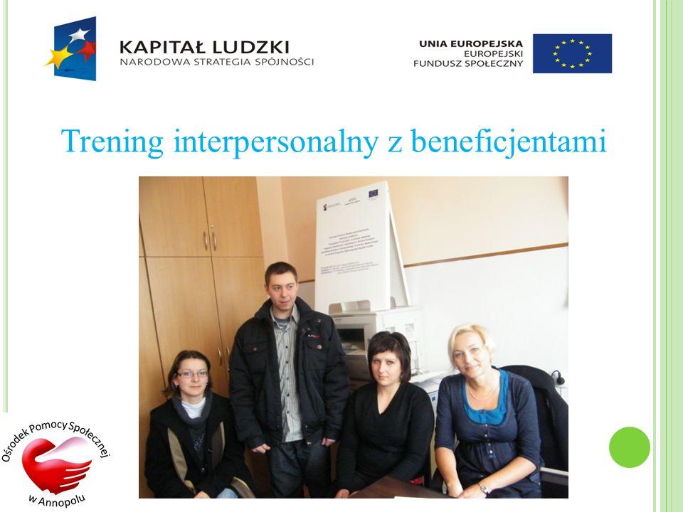 Trening interpersonalny z beneficjentami