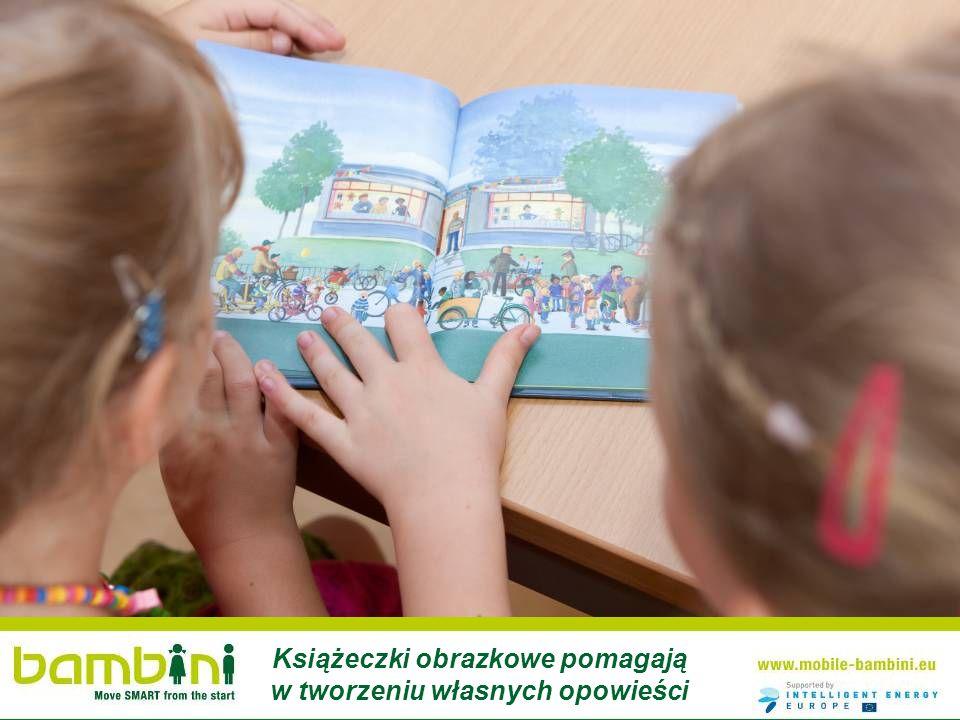 Książeczki obrazkowe pomagają w tworzeniu własnych opowieści