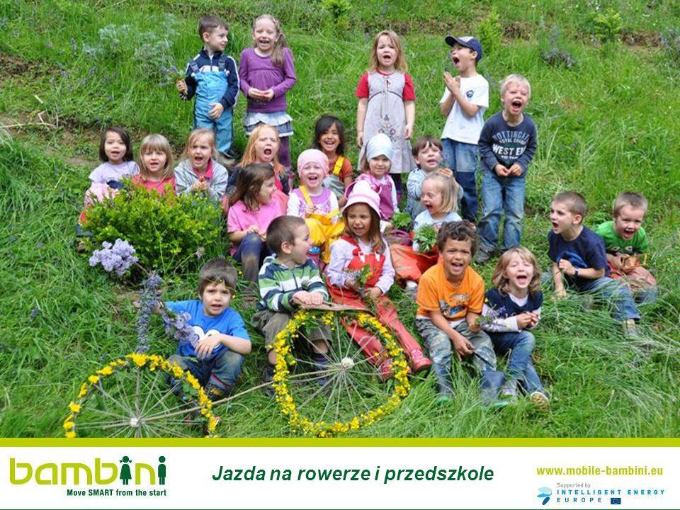 Jazda na rowerze i przedszkole