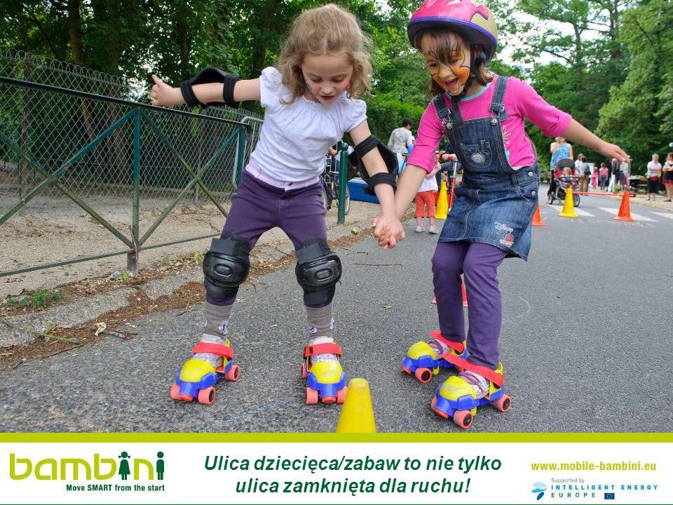 Ulica dziecięca/zabaw to nie tylko ulica zamknięta dla ruchu!